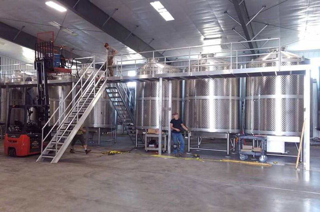Metal Fabrication - Wineries & Breweries